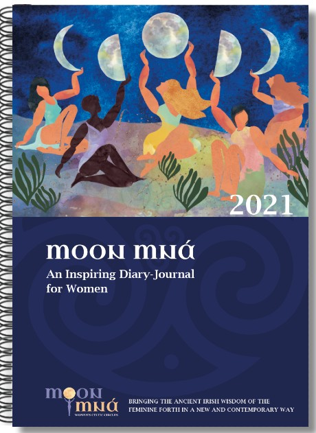 Moon Mná Diary-Journal & Sacred Ireland Celtic Moon Oracle Cards
