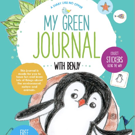 My Green Journal with Benjy