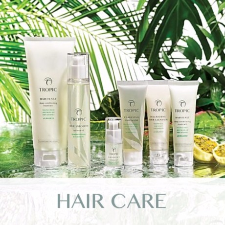 Tropic: Hair Care Range